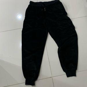 Wild Fable Black Terry Cloth Joggers - Medium